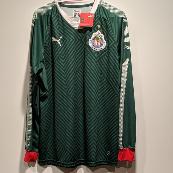 online retailer 3efe2 9779e Chivas de Guadalajara Green Jersey NWT